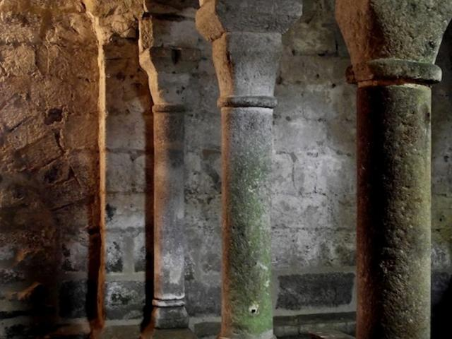 Eglise Crypte Ahun Cotahun 2