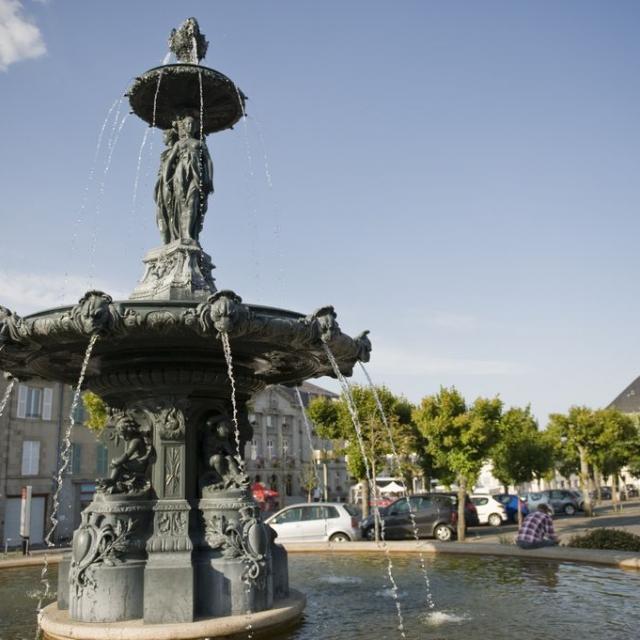 Guéret Fontaine Des 3 Graces©bohn Crt Limousin