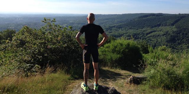Guillaume, trail en Creuse