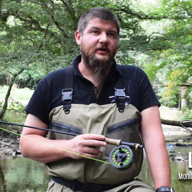 Julien Lemesle, pêche en Creuse