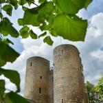 Les tours de Crocq dans la Creuse