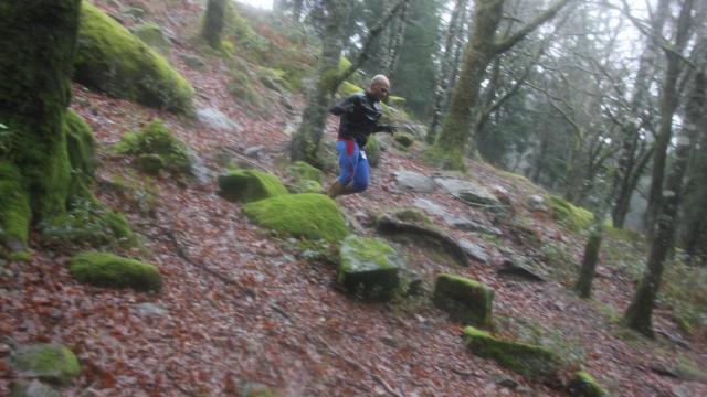 Dénivelé Trail Du Loup Blanc, La Creuse