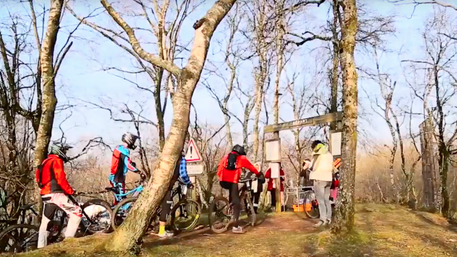 Rallye des 4 puys, VTT en Creuse