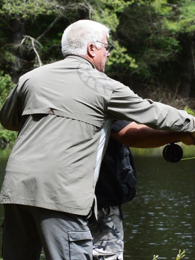 Ghislain Bonnet, guide de pêche en Creuse