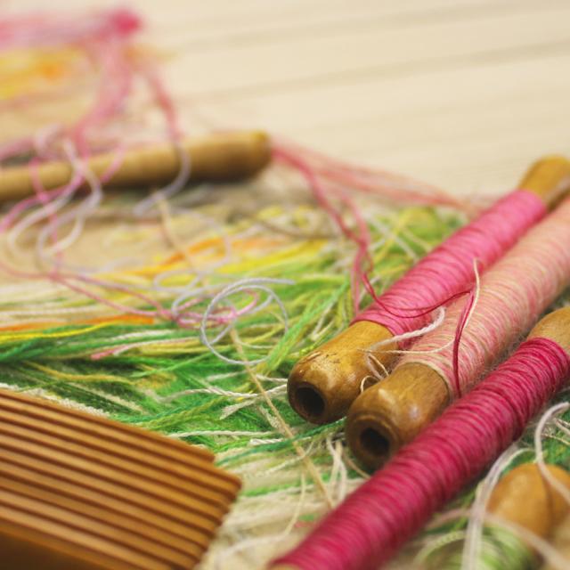 tapisserie d'Aubusson, laine ©OT Aubusson