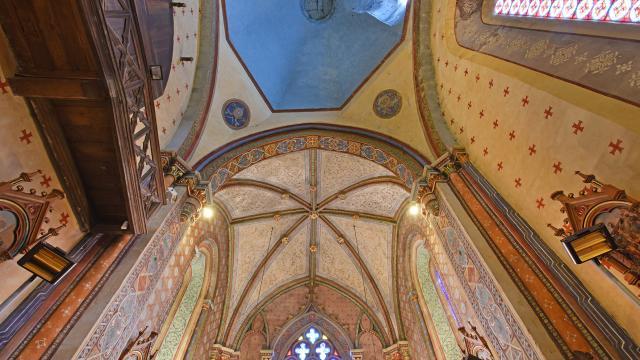 Eglise Saint Jean Baptiste à Bourganeuf