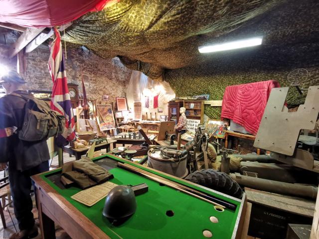 L'intérieur du Musée de la Résistance
