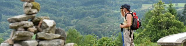 St Goussaud Roche Guery Randonnée en Creuse