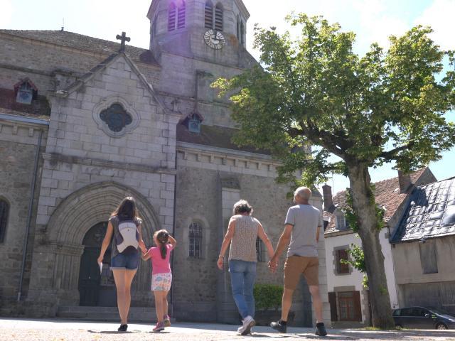 Auzances Église Saint-Jacques