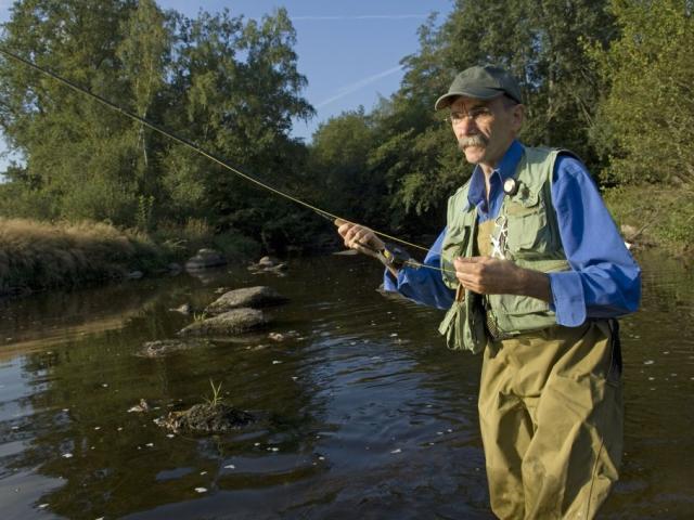 Pêche à la mouche en Creuse
