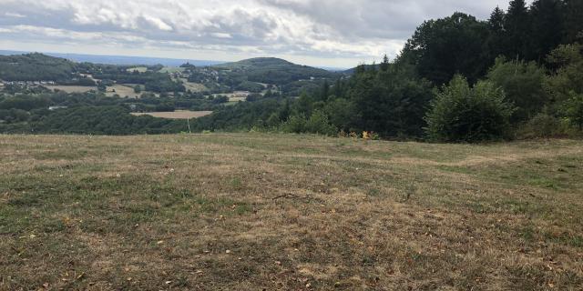Panorama paysage Creuse