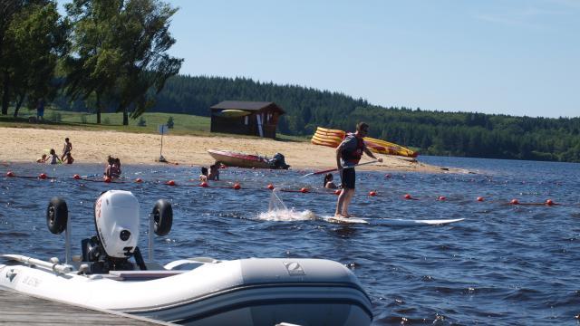 Paddle au lac de Vassivière