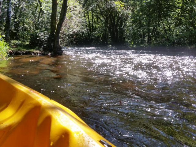 Descente de la Maulde en kayak