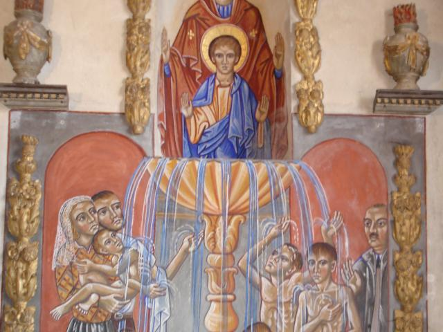 Auzances Eglise St Jacques La Vierge À La Vasque