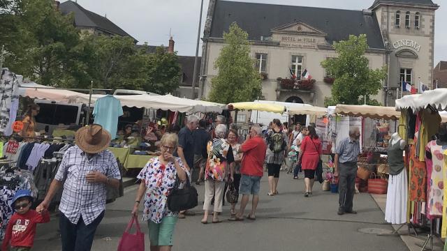 Marché de Boussac