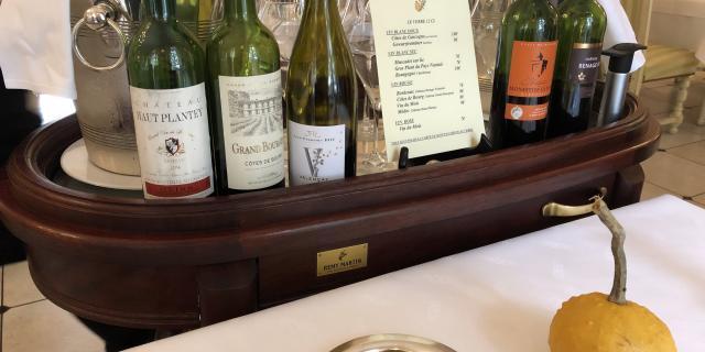 Charriot des vins