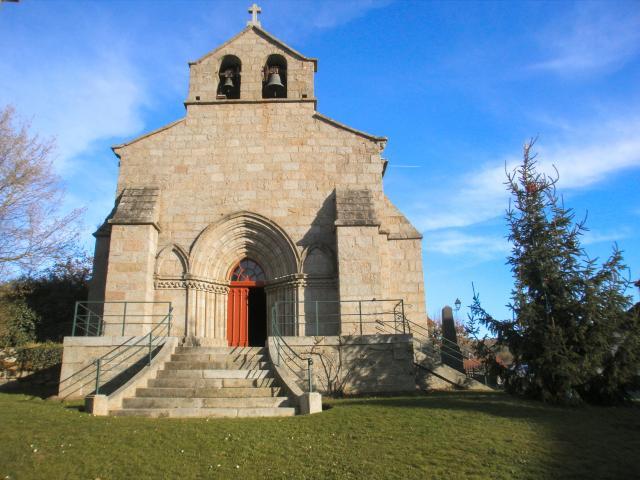 Lioux les Monges, église