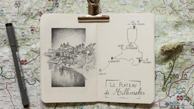 Plateau Millevaches Velo 2