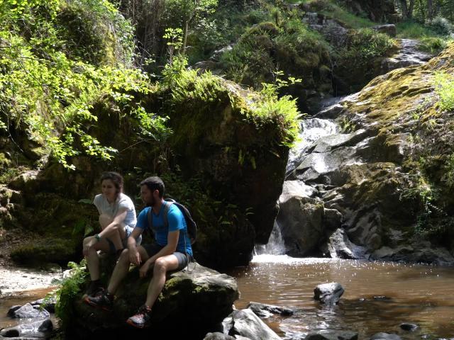 Randonnée en Creuse - Cascade des Moulines