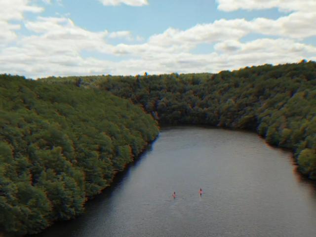 Paddle en Creuse - Plage de Jouillat